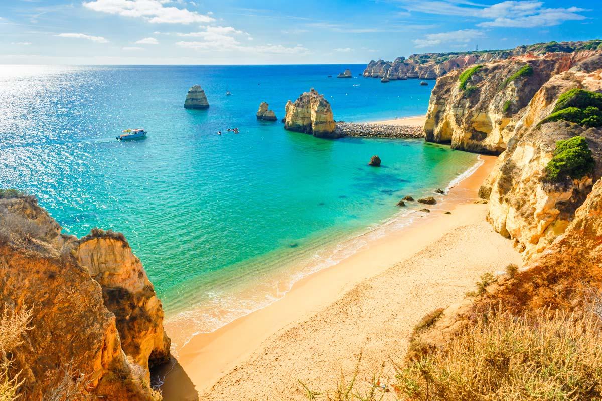 Meilleures plages du portugal autour de lisbonne ou sur la cote sud en algarve/